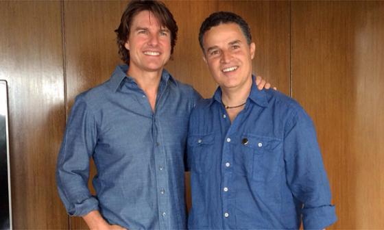 Tom Cruise se reunió con el alcalde de Medellín