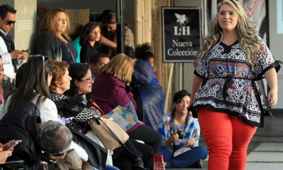 """La """"Plus Size Fashion Weekend"""", feria de moda con la idea de impulsar las tallas grandes en Colombia."""