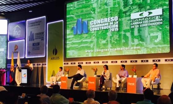 Se inaugura oficialmente el Congreso Colombiano de la Construcción
