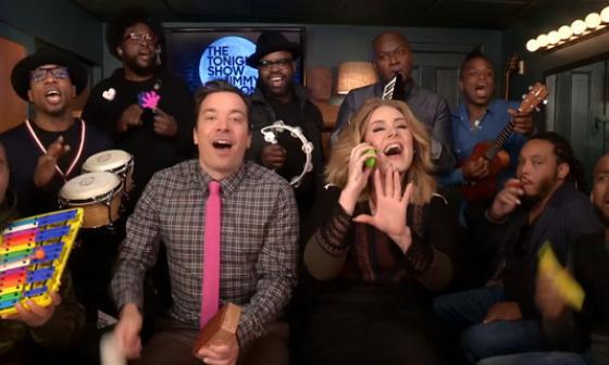 Adele y Jimmy Fallon hacen la versión más original de 'Hello'