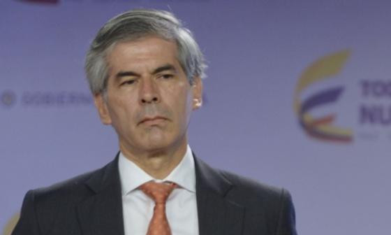 Yesid Reyes, ministro de Justicia.