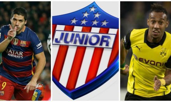 ¿Qué tienen que ver Luis Suárez y Pierre-Emerick Aubameyang con Junior?