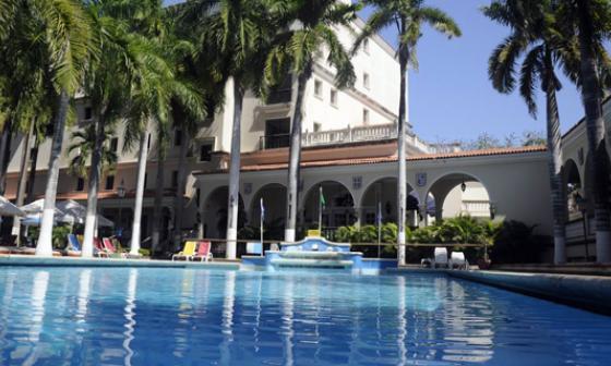 Hotel El Prado.
