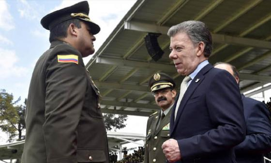 """""""Pido a organismos de control que aceleren investigación por honra del general Palomino"""": Santos"""