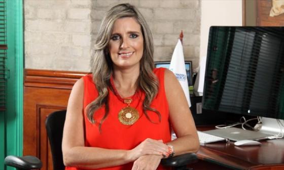 María José Vengoechea - Presidenta Camcomercio Barranquilla.