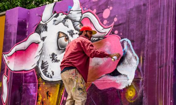 El arte sale a la calle en Barranquilla