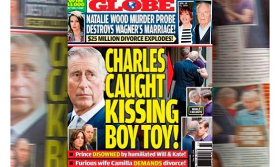El beso que podría destronar al príncipe Carlos