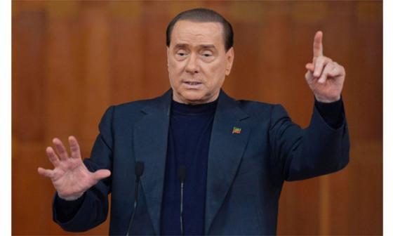 Silvio Berlusconi, ex primer ministro italiano.