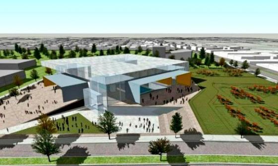 Así se vería el nuevo escenario deportivo que reemplazará al Coliseo Humberto Perea