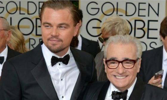 Leonardo DiCaprio y Martin Scorsese.