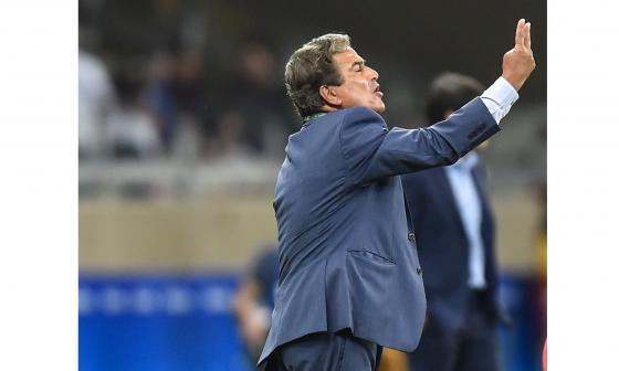 """""""Estamos satisfechos pero no felices"""": Jorge Luis Pinto"""