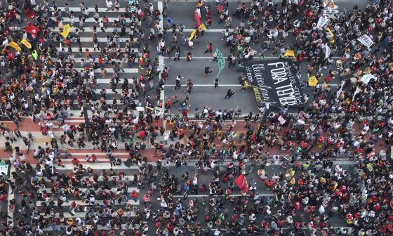 Siguen protestas en Brasil tras destitución de Dilma Rousseff