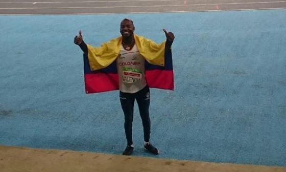 Mauricio Valencia, oro en lanzamiento jabalina