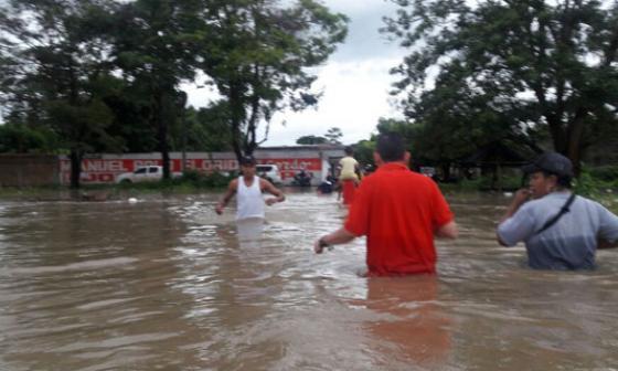 Desbordamiento del río por 'Matthew' impide elecciones en Aracataca y Zona Bananera