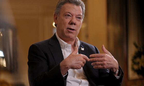 """""""Pretender volver a empezar de cero o que no había conflicto es inviable"""": Santos"""