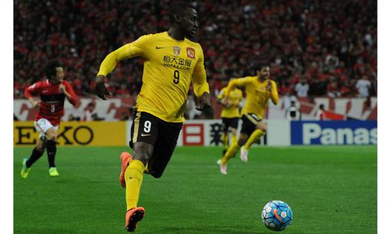 Jackson Martínez, campeón en el fútbol chino