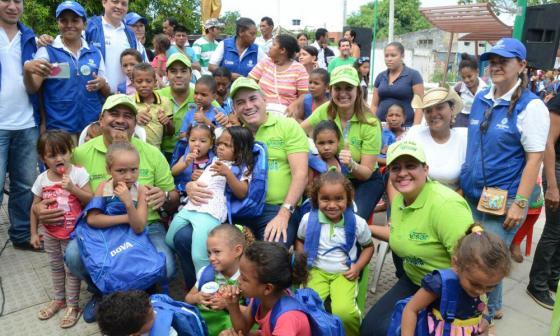 'Camino al aula', estrategia contra la deserción escolar en Cesar