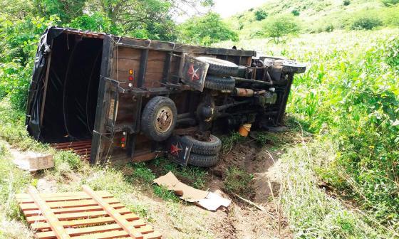 Reportan accidente de tránsito en la vía Sabanalarga – Manatí