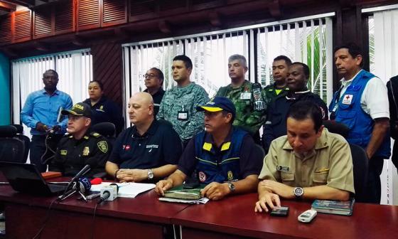"""Gobernación de San Andrés anuncia """"toque de queda"""" por paso de Otto"""