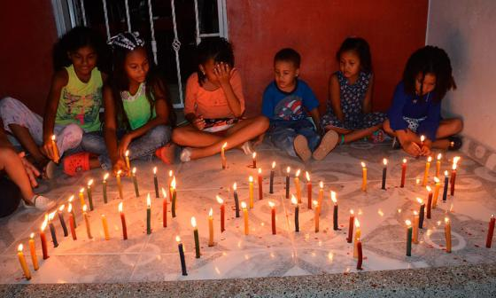Desde Barranquilla llegaron las velitas a Riohacha