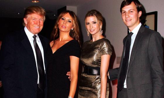 Trump nombra a su yerno como asesor presidencial