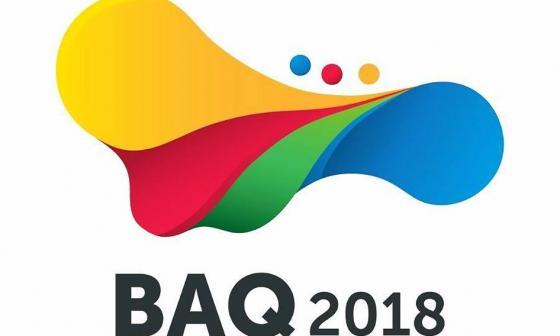 Logo de los Juegos Centroamericanos y del Caribe Barranquilla 2018.
