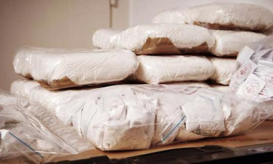 Policía y DEA incautan 1.757 kilos de cocaína en 4 países