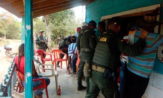 Policía se tomó Batata, donde el fin de semana fue asesinado un agente de inteligencia