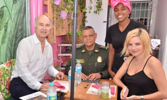 Minjusticia comió posta cartagenera en restaurante de la cárcel San Diego