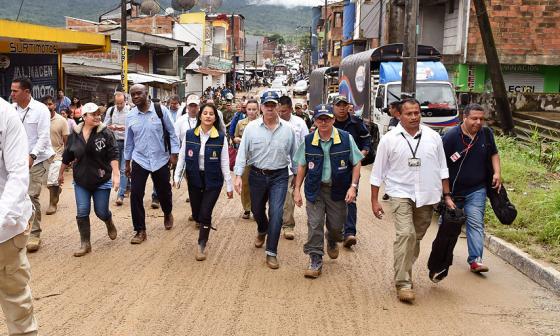 El número de víctimas en Mocoa ascendió a 315, según Medicina Legal