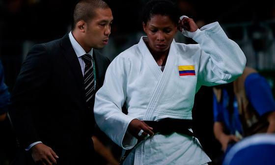 Yuri Alvear gana oro en Panamericano de Judo