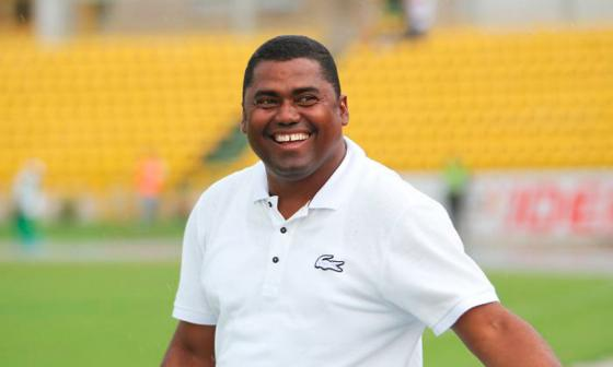 Hubert Bodhert, técnico de Jaguares de Córdoba.