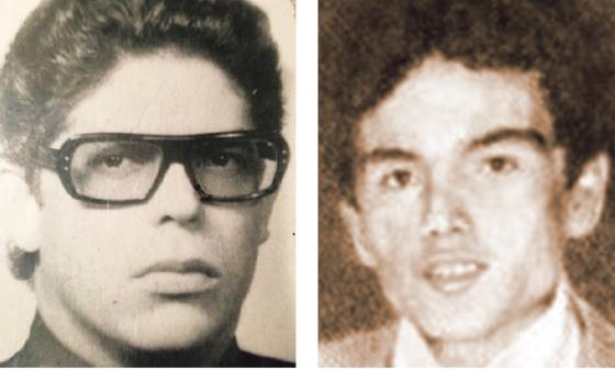 El barranquillero Julio César Andrade  (izq) y el sahagunense Hector Jaime Beltrán.