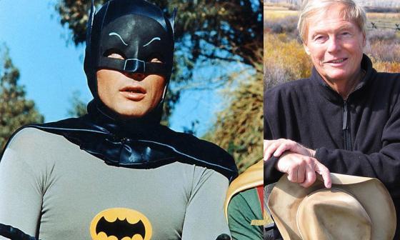 El actor interpretó a Batman en 1960.