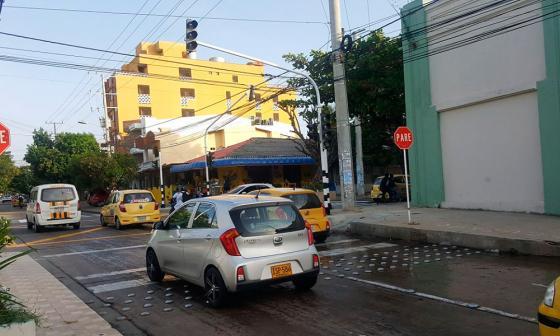 Nuevo semáforo de la calle 68 empieza a funcionar como alto preventivo