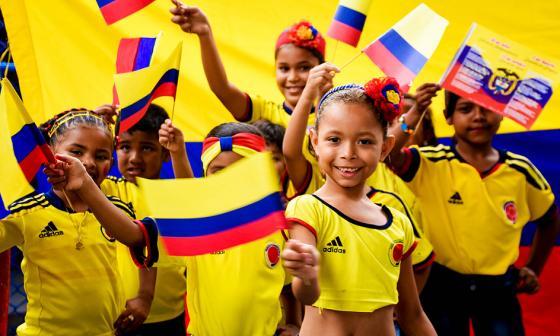 Colegios abanderan celebración del 20 de Julio en Barranquilla