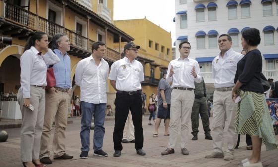 La Plaza de Los Coches será recuperada con el apoyo de la Gobernación