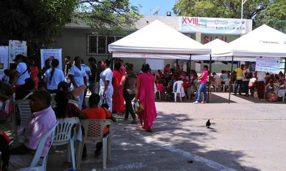 En La Guajira se lleva a cabo la Operación Sonrisa