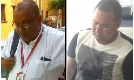 Abraham Galvis Sotomayor, capturado; Cristian González Robles, capturado.