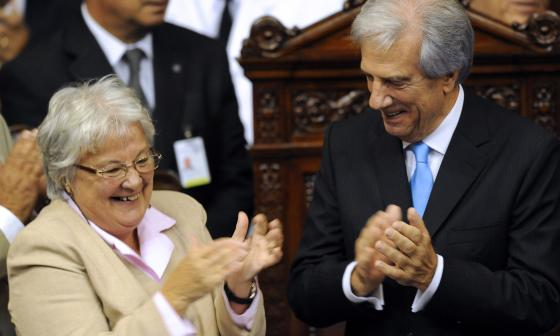 Esposa de Mujica, asumirá como vicepresidenta de Uruguay