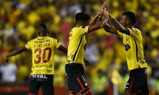 Barcelona iguala 1-1 con Santos en cuartos de final de la Libertadores