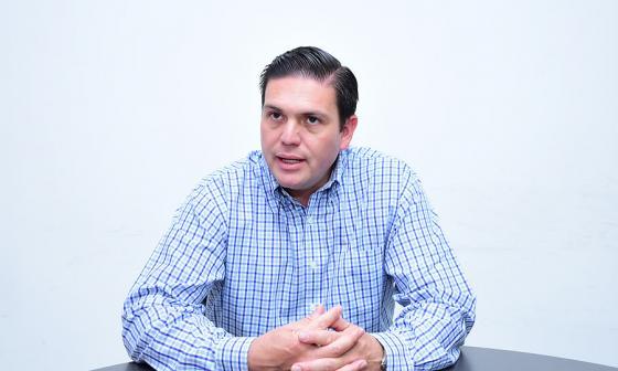 Juan Carlos Pinzón, precandidato presidencial.