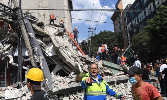 Aún no se tiene información sobre algún colombiano afectado en México