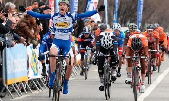 El equipo de ciclismo belga que no recibe a barbudos