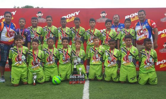 Atlético Colombia, único equipo de Barranquilla en el pony fútbol 2018