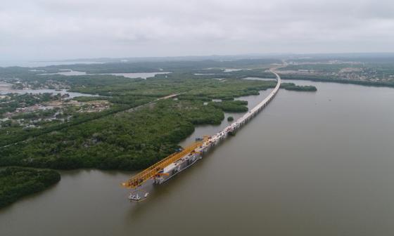 Viaducto Cartagena- Barranquilla estará listo en julio de 2018: ANI