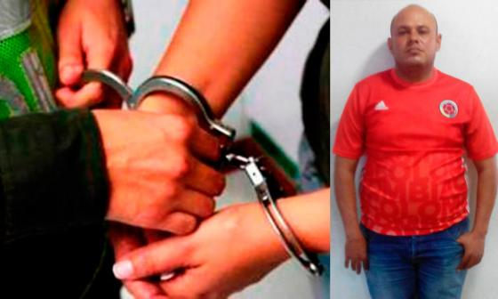 Norbey Jaime Jiménez Medina fue capturado durante este miércoles.