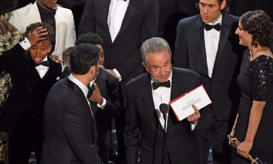Tráiler de los Óscar 2018 recuerda anecdótico error de los premios