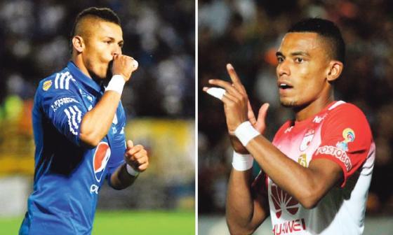 Ayron Del Valle y William Tesillo.