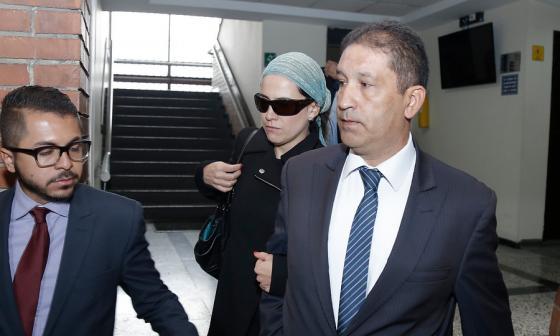 Los hermanos Francisco y Catalina Uribe Noguera, en audiencia de imputación de cargos en marzo pasado.